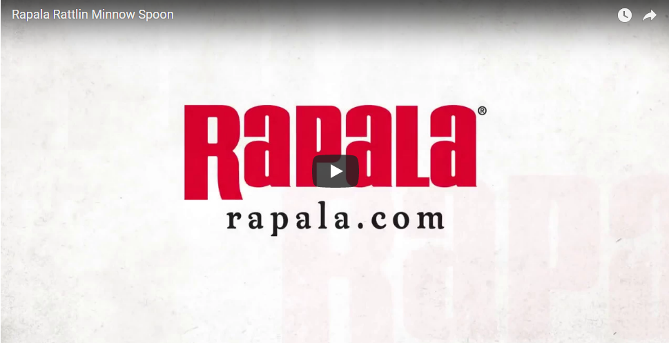 Rapala Rattlin Minnow Spoon
